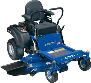 2009 SpeedZTR 48 mower with Tri-force Deck